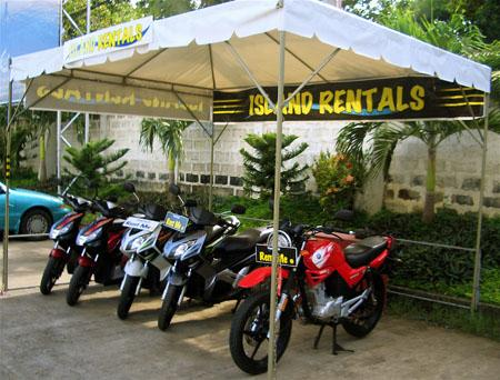 Mikes bohol island scooter rentals