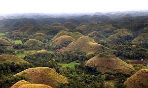 Chocolate hills bohol philippines300 jpg