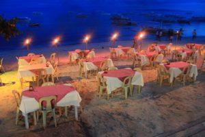 Lost horizon beach resort restaurant