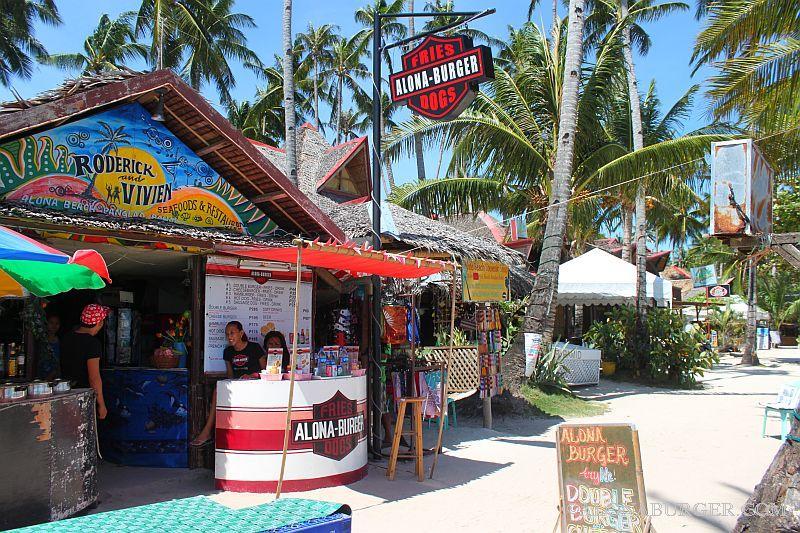 Alona burger best burgers on alona beach, panglao island bohol philippines