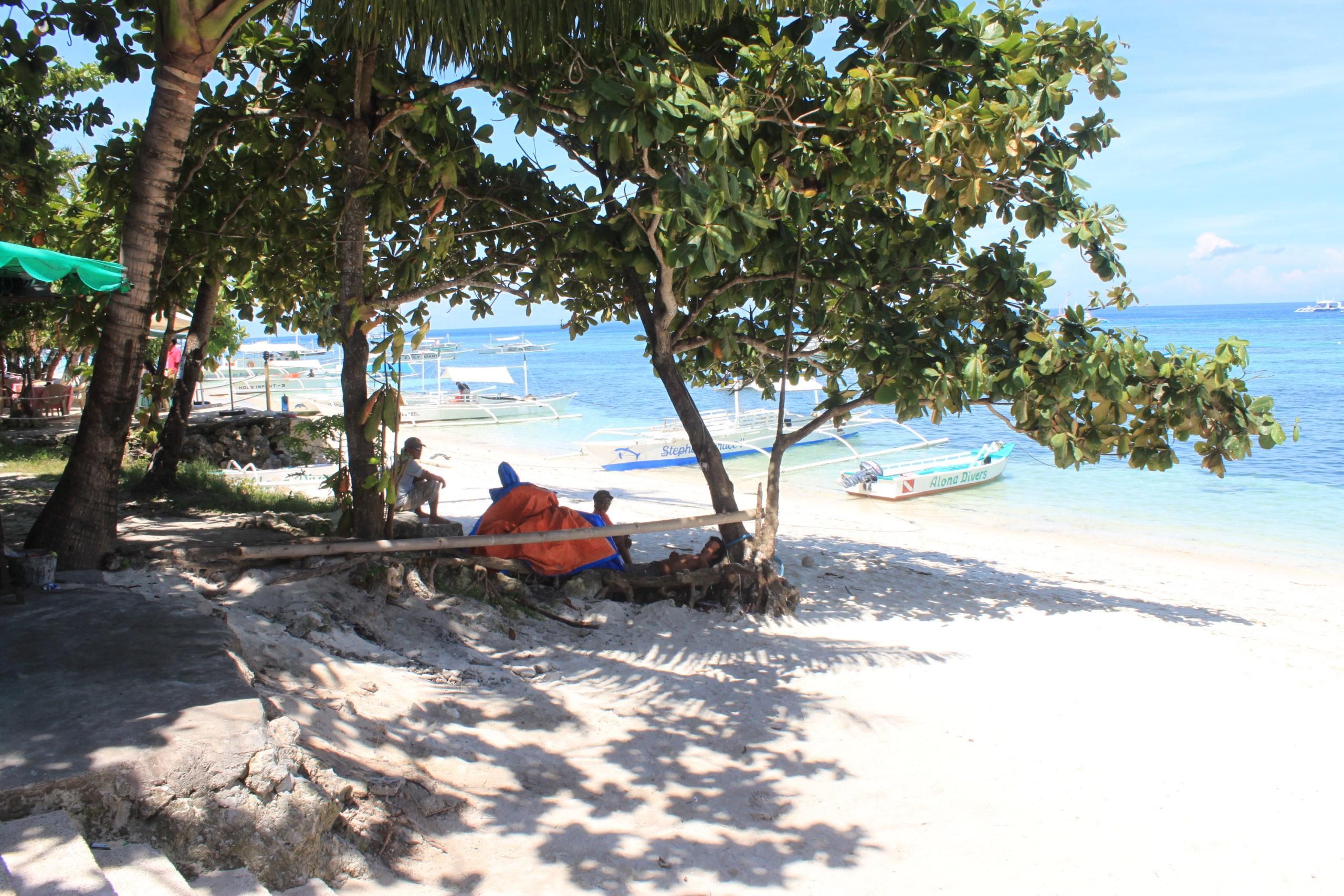Alona beach resorts panglao island, bohol philippines