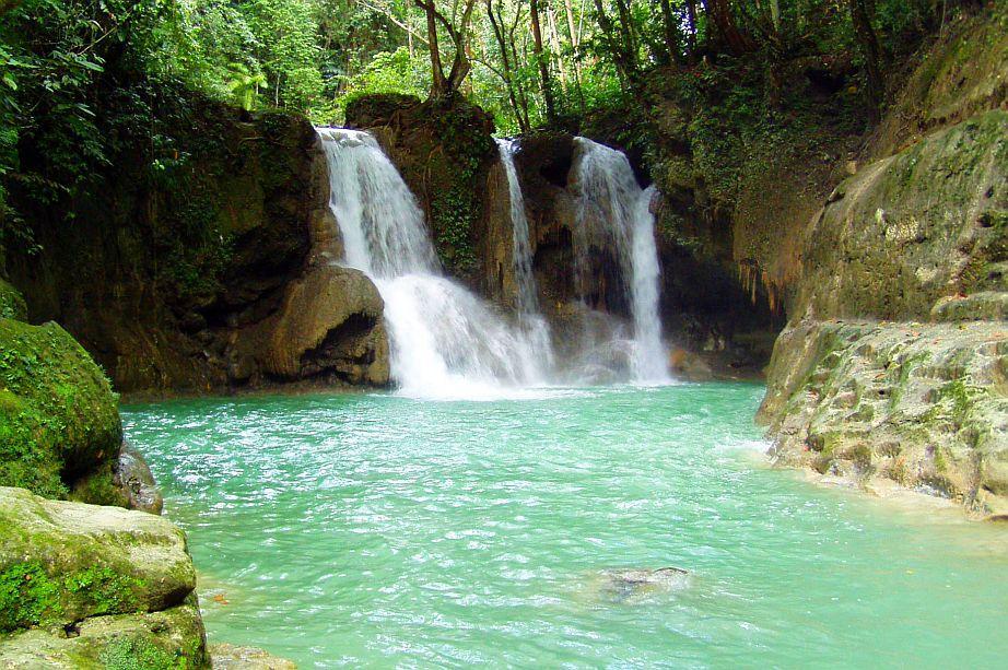 Mag aso falls bohol philippines