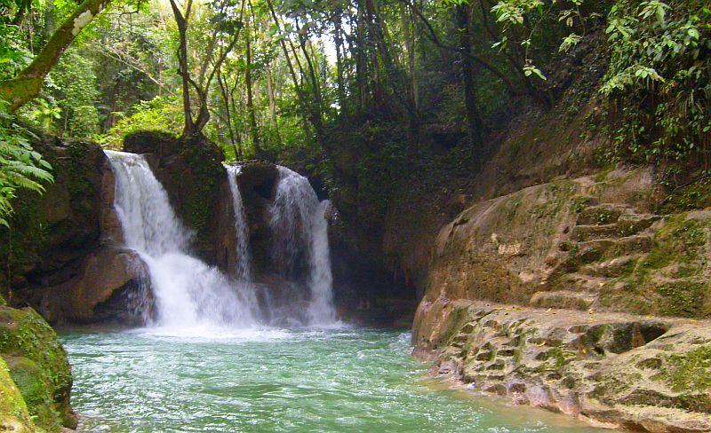 Mag aso falls bohol philippines1