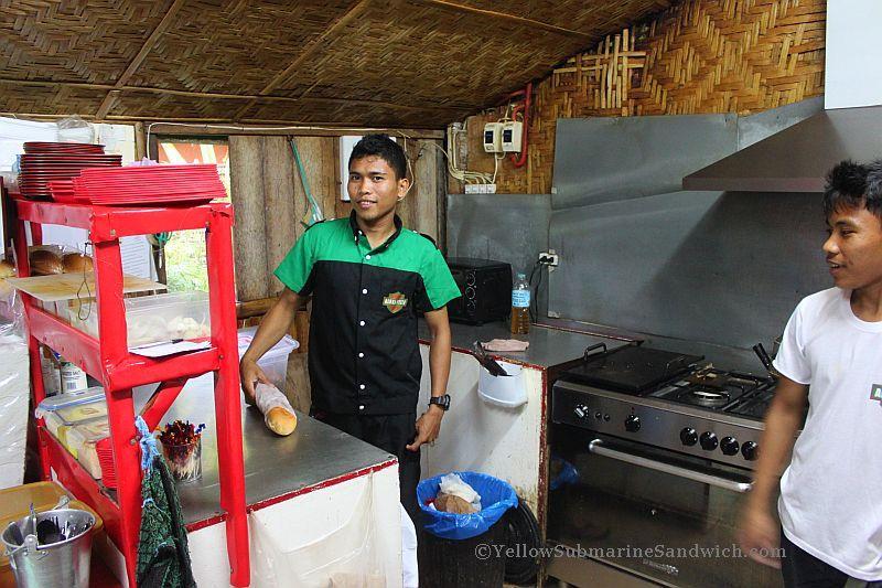 Yellow submarine sandwich panglao island bohol 023