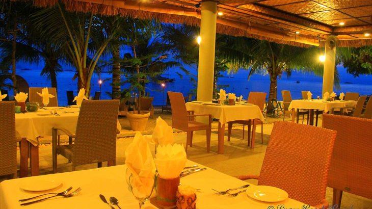 Linaw beach resort panglao island bohol pearl restaurant
