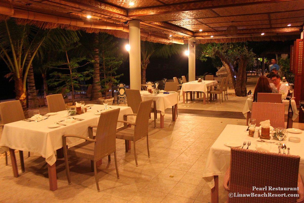 Pearl restaurant linaw beach resort 036