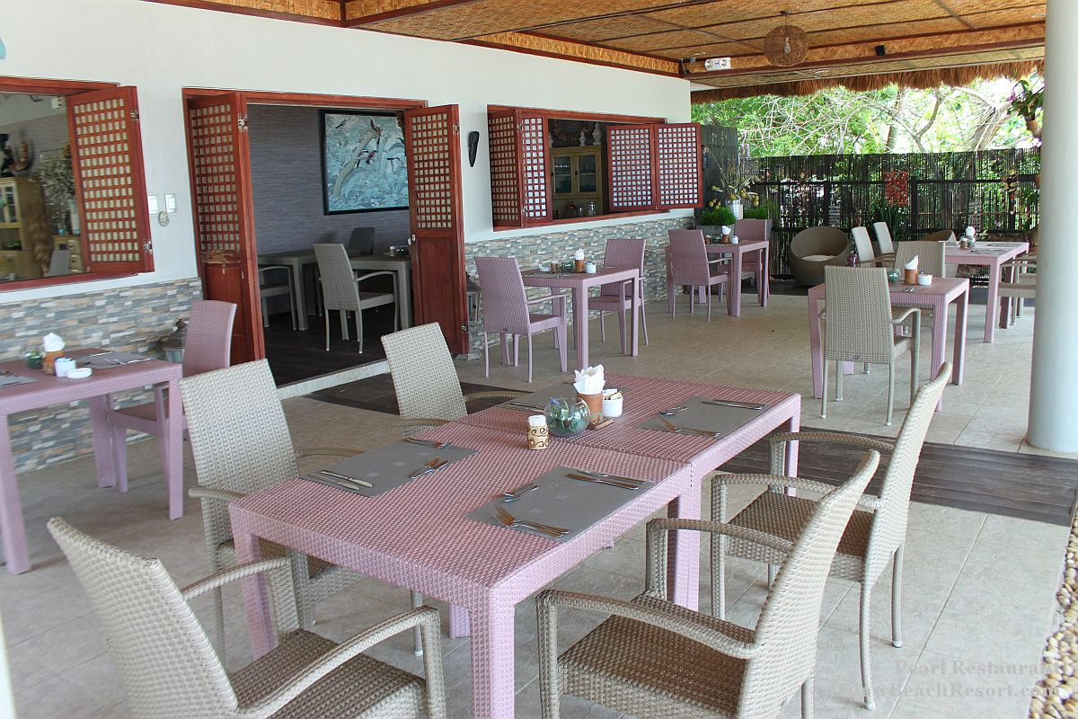 Pearl restaurant linaw beach resort 074
