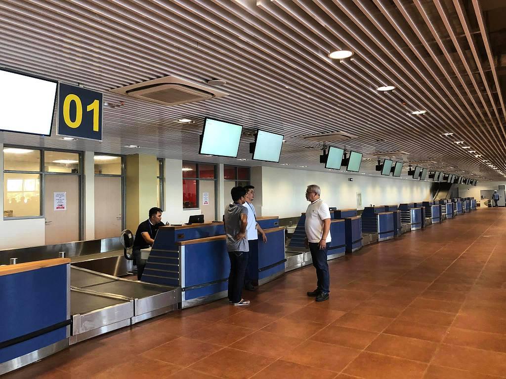 Thr new bohol panglao international airport 013