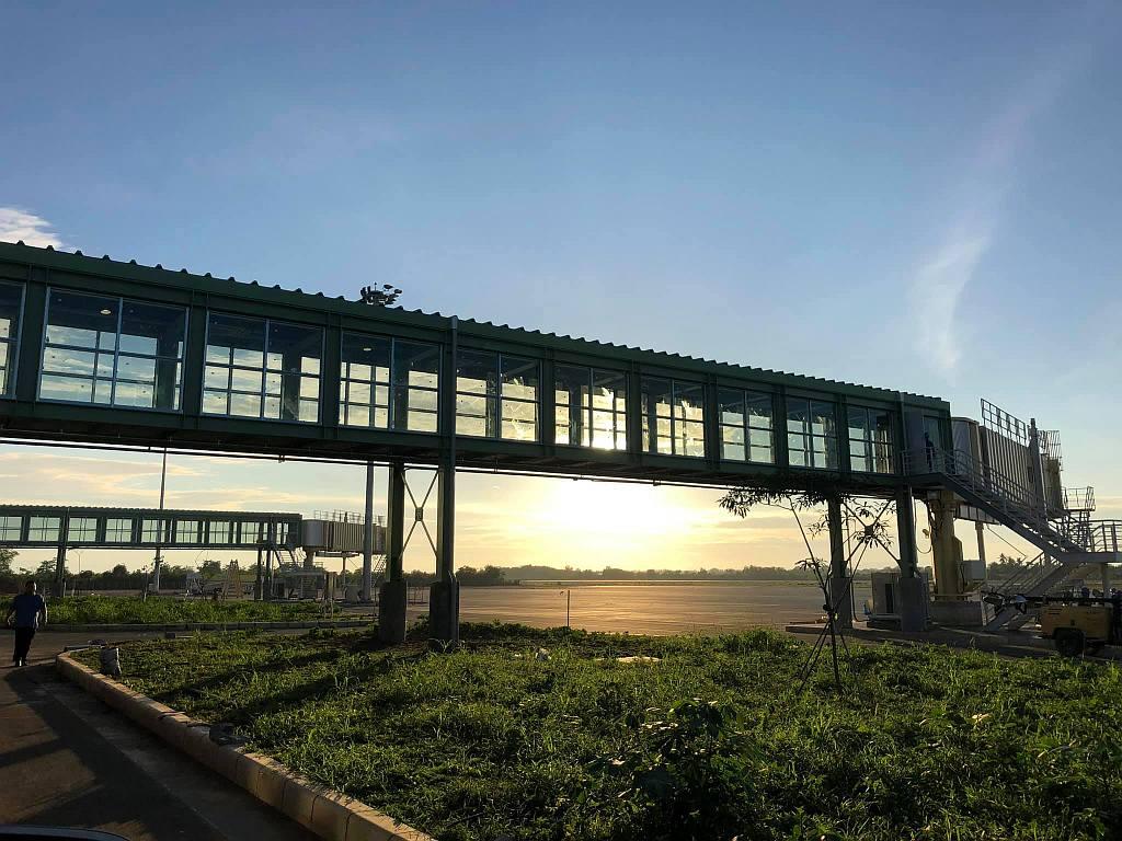 Thr new bohol panglao international airport 019