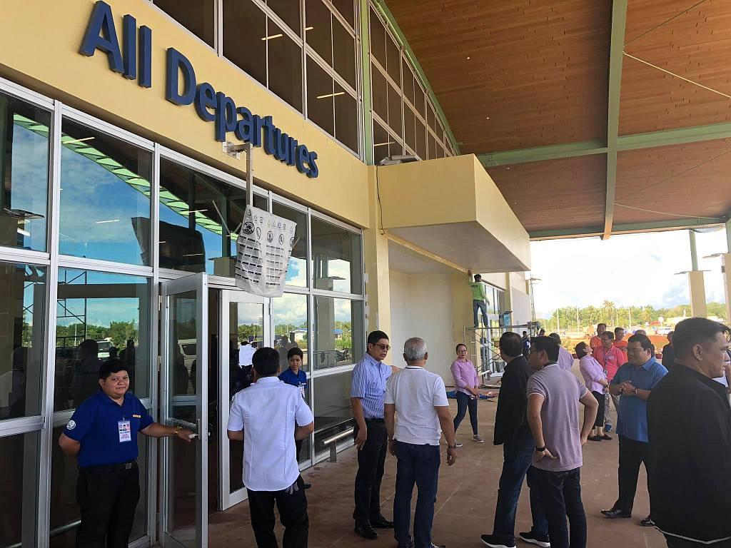 Thr new bohol panglao international airport 023