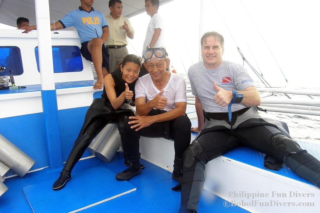 Philippine fun divers divers alona beach panglao bohol president ramos 5 1024x683