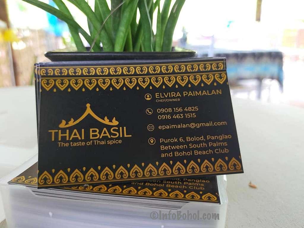 The thai basil restaurant panglao island bohol philippines003