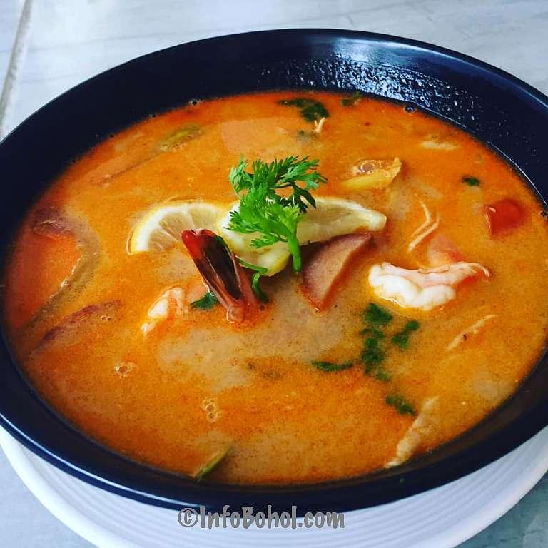 The thai basil restaurant panglao island bohol philippines030