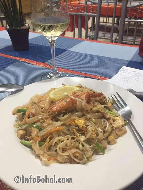 The thai basil restaurant panglao island bohol philippines034