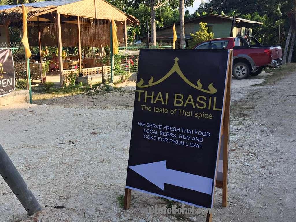 The thai basil restaurant panglao island bohol philippines037