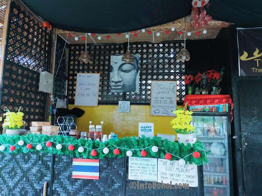 The thai basil restaurant panglao island bohol philippines054